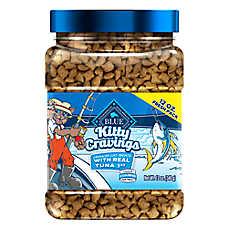 BLUE Kitty Cravings Cat Treat - Natural, Tuna