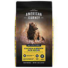 American Journey ™ Dry Dog Food - Natural, Chicken & Brown Rice
