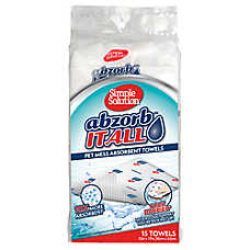 Simple Solution® Abzorb™ It All Pet Mess Towels