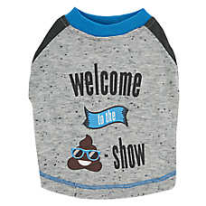 "Top Paw® ""Welcome to the Show"" Puppy Pet Tee"