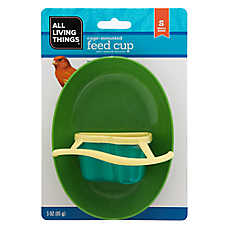 All Living Things® Cage-Mounted Bird Feed Cup