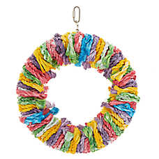 All Living Things® Rope Snuggle Ring Bird Toy
