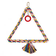 All Living Things® Triangle Swing Bird Toy