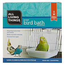 All Living Things® Hooded Bird Bath
