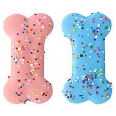 Molly's Barkery Gourmet Birthday Sprinkled Bones Dog Treat - 2 Pack