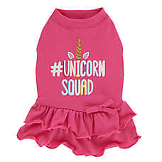 "Top Paw® ""Unicorn Squad"" Ruffle Puppy Pet Dress"
