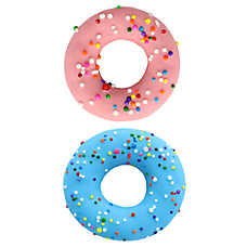 Molly's Barkery Gourmet Sprinkled Donut Treat for Dogs - 2 Pack