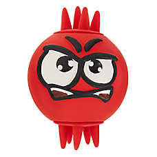 Top Paw® Angry Ball Dog Toy - Squeaker