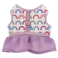 Top Paw® Rainbow Skirt Vest Puppy Dog Harness