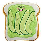 Top Paw® Avocado Toast Dog Toy - Plush, Squeaker
