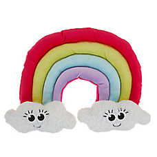 Top Paw® Rainbow Puppy Dog Toy - Plush, Squeaker