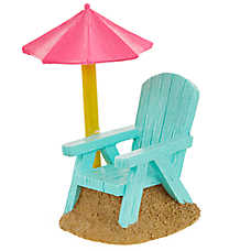 Top Fin® Beach Chair Aquarium Ornament