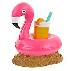 Top Fin® Floating Flamingo Aquarium Ornament