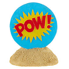 Top Fin® POW! Sign Aquarium Ornament