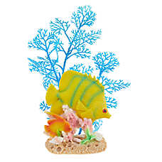 Top Fin® Tropical Fish & Artificial Plant Aquarium Ornament