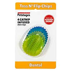 Petstages® Dental Toss 'N Flip Chips Cat Toys
