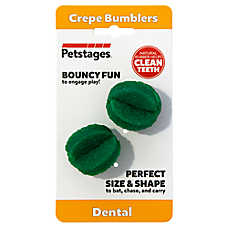 Petstages® Dental Crepe Bumblers Cat Toy - 2 Pack