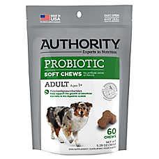 Authority® Probiotic Adult Dog Soft Chews