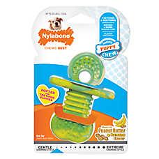 Nylabone® Puppy Teether Binky Dog Chew Toy