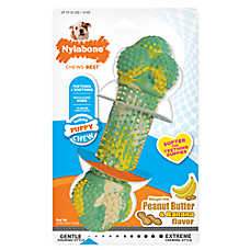 Nylabone® Puppy Double Action Dog Chew Toy