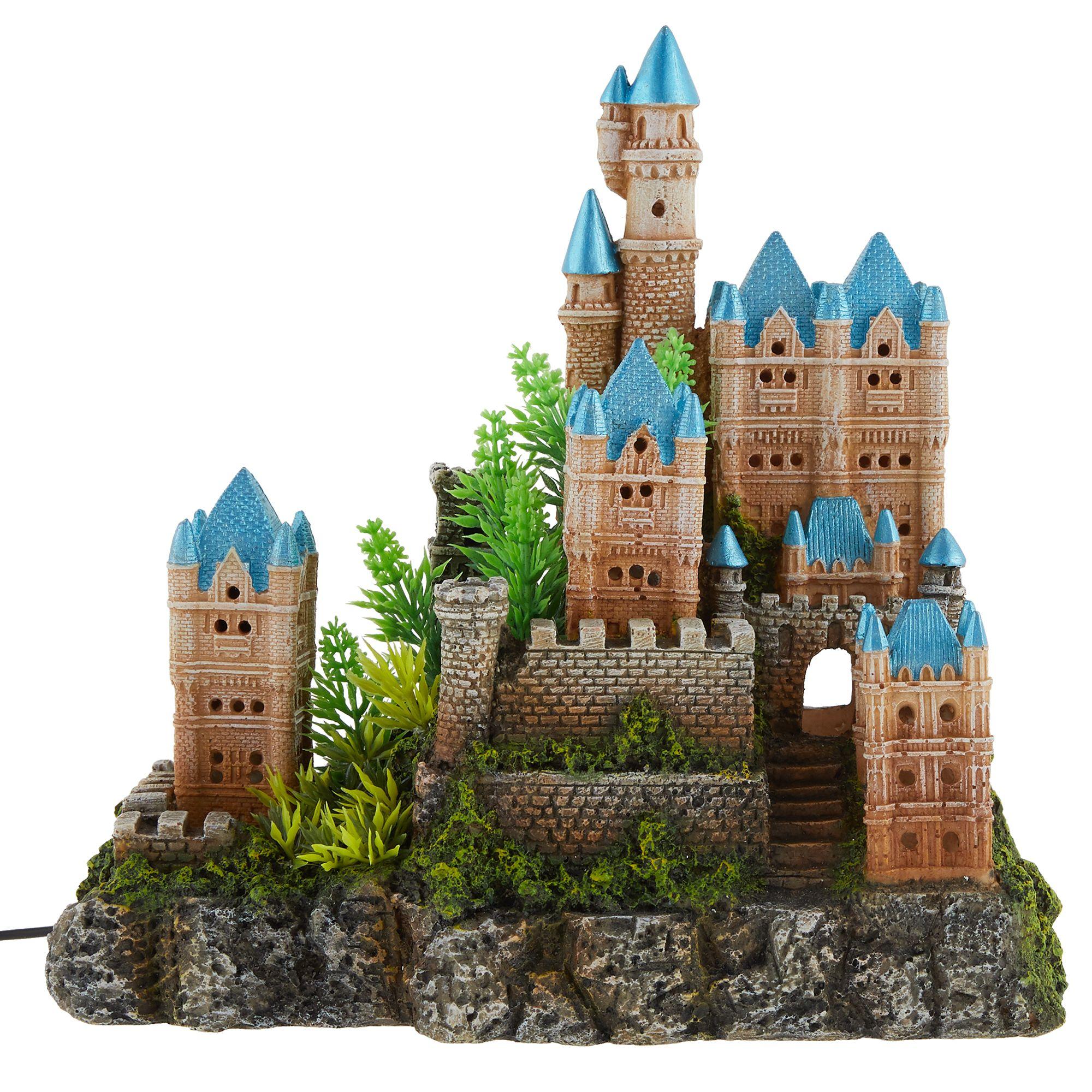 Top Fin Enchanted Castle Led Aquarium Ornament Fish Ornaments Petsmart