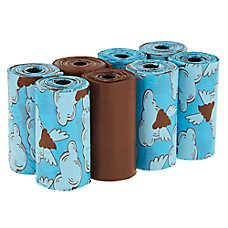 Top Paw® Flying Poop Scented Waste Pickup Bags - Blooming Meadow