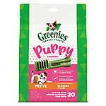 GREENIES® 6 Month+ Puppy Petite Dental Dog Treat