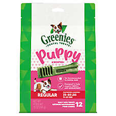 GREENIES® 6 Month+ Puppy Dental Dog Treat