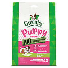 GREENIES® 6 Month+ Puppy Teenie Dental Dog Treat