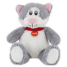 "PetSmart ""Lucky"" the Cat Dog Toy - Plush, Squeaker"