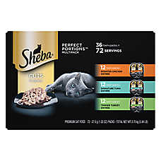 buy 2, get the 3rd FREE entire stock Sheba® cat food, 12-36 ct. variety packs