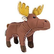 Beaver Canoe Moose Dog Toy - Canvas