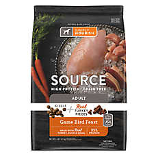 Simply Nourish® SOURCE ™ Dog Food - Natural, High Protein, Grain Free, Kibble + Turkey