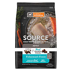 Simply Nourish® SOURCE ™ Dog Food - Natural, High Protein, Grain Free, Kibble + Salmon