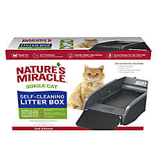 Nature's Miracle® Single Cat Self-Cleaning Litter Box