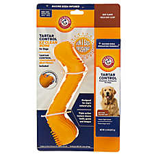 Arm & Hammer™ Tartar Control EZ Clean Bone Dog Dental Kit - Beef