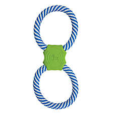 JW Pet® Giggle Tug Dog Toy - Rope