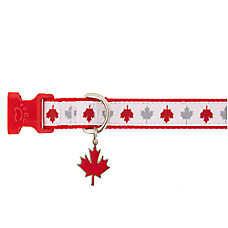 Top Paw® Canada Day Dog Collar