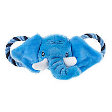 Top Paw® Tug 'N Squeak Elephant Dog Toy - Plush, Rope