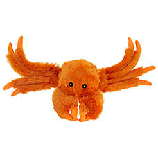 Top Paw® Tug 'N Squeak Crab Dog Toy - Plush