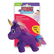 KONG® Enchanted Buzzy Unicorn Cat Toy - Catnip, Plush