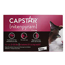 starting at $41.99 Capstar™ cat flea & tick treatment