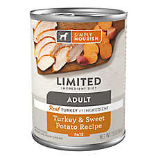 Simply Nourish® Limited Ingredient Diet Pate Wet Dog Food - Natural