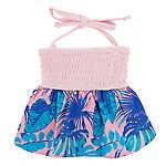 Top Paw® Summer Fun Tropical Ruffle Pet Dress