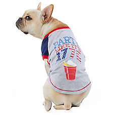 """Top Paw® Americana """"Party Like It's 1776"""" Pet Tee"""