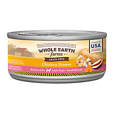 sale 8 / $8	Whole Earth Farms™ small breed dog food, 3 oz. cans