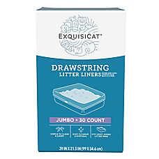 ExquisiCat™ Drawstring Litter Liners - Jumbo