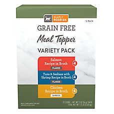 Simply Nourish® Meal Topper Cat Food - Variety Pack