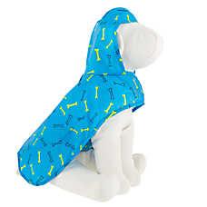 Top Paw® Dog Bones Packable Pet Raincoat