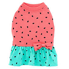 Top Paw® Summer Fun Watermelon Pet Dress